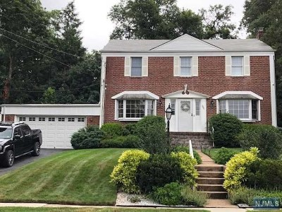 Hackensack Single Family Home Under Contract: 280 Maple Hill Drive