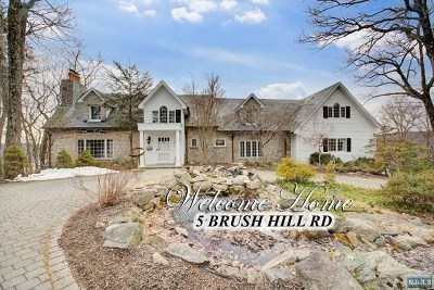 Morris County Single Family Home Under Contract: 5 Brush Hill Road