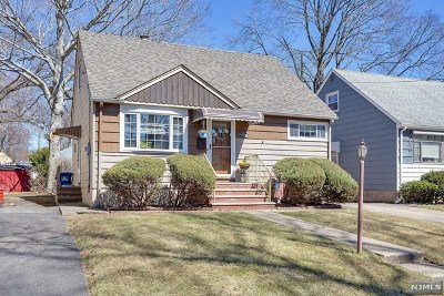 Hackensack Single Family Home Under Contract: 496 West Anderson Street