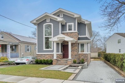 Hasbrouck Heights Single Family Home Under Contract: 194 Oldfield Avenue