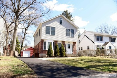 Tenafly Single Family Home Under Contract: 48 North Browning Avenue