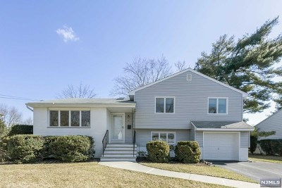 Fair Lawn Single Family Home Under Contract: 45 Kershner Place