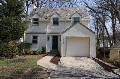 Teaneck Single Family Home Under Contract: 1155 Sussex Road