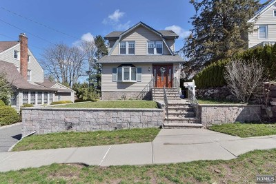 Teaneck Single Family Home Under Contract: 537 Hillcrest Street