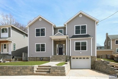 Bergen County Single Family Home Under Contract: 27 East Glenwood Drive