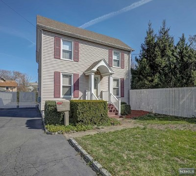 Bergenfield Single Family Home Under Contract: 97 East Clinton Avenue