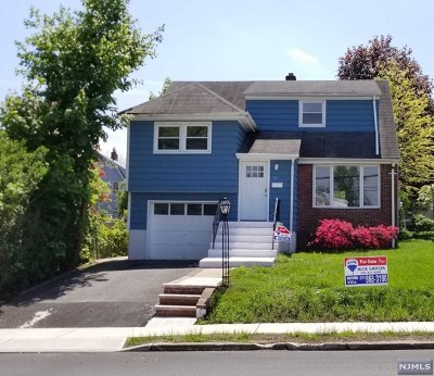 Bergenfield Single Family Home Under Contract: 58 River Edge Road