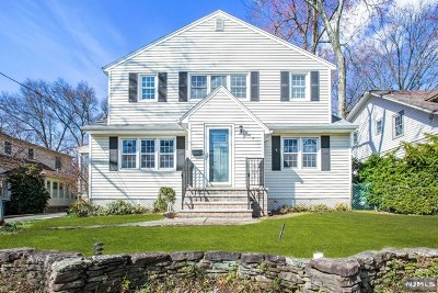 Glen Rock Single Family Home Under Contract: 207 Pinelynn Road