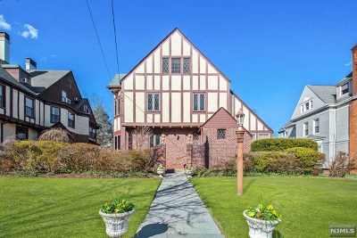 Hackensack Single Family Home Under Contract: 284 Clinton Place