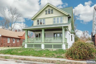 Ridgefield Park Single Family Home Under Contract: 32 Brewster Avenue