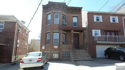 Cliffside Park Multi Family 2-4 Under Contract: 208 Riverview Place
