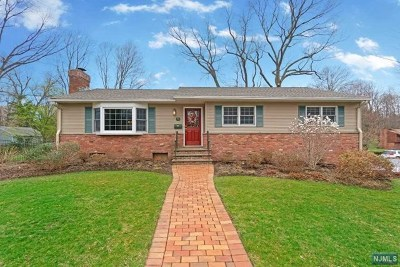Bergen County Single Family Home Under Contract: 73 Fordham Avenue