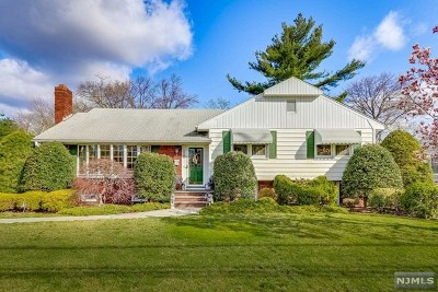 Glen Rock Single Family Home Under Contract: 325 Harristown Road
