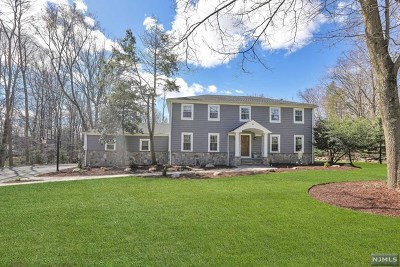 Upper Saddle River Single Family Home Under Contract: 14 Evergreen Drive