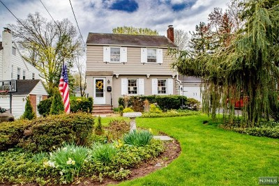 Tenafly Single Family Home Under Contract: 184 West Clinton Avenue