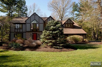 Saddle River NJ Single Family Home Under Contract: $1,289,000