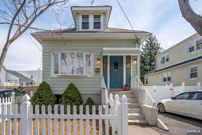 Hudson County Single Family Home Under Contract: 736 Golden Avenue