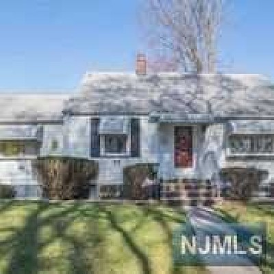 Passaic County Single Family Home Under Contract: 42 Mathes Avenue