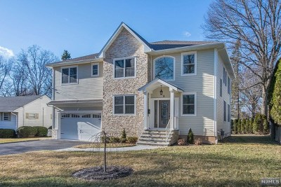 Glen Rock Single Family Home Under Contract: 8 Rocklynn Place