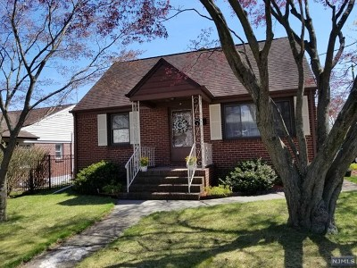 Elmwood Park Single Family Home Under Contract: 38 17th Avenue