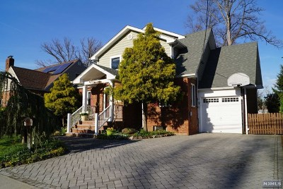 Fair Lawn Single Family Home Under Contract: 2-37 35th Street