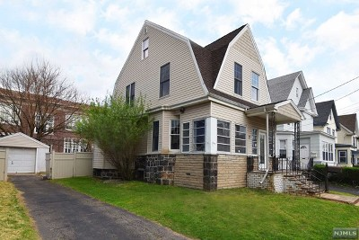 Hudson County Single Family Home Under Contract: 7 Prospect Place