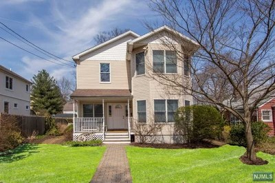 Tenafly Single Family Home Under Contract: 121 Sunset Lane