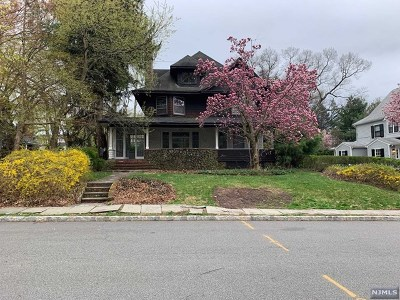 Essex County Single Family Home Under Contract: 20 Glenwood Road