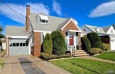 Fair Lawn Single Family Home Under Contract: 12-15 Burbank Street