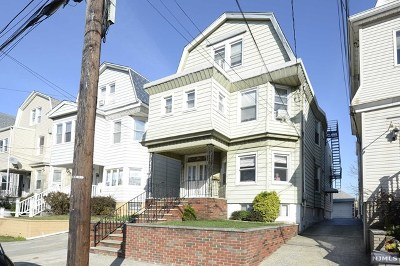 Hudson County Multi Family 2-4 Under Contract: 296 Ivy Street