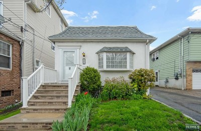 Hudson County Single Family Home Under Contract: 804 8th Street