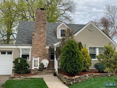 Fair Lawn Single Family Home Under Contract: 5-15 4th Street