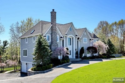 Upper Saddle River Single Family Home Under Contract: 98 Carlough Road