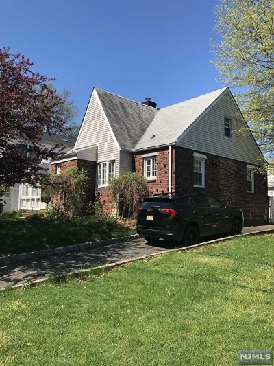 Hasbrouck Heights Single Family Home Under Contract: 11 Terrace Avenue