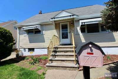 Hackensack Single Family Home Under Contract: 165 Poor Street