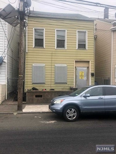 Passaic County Multi Family 2-4 Under Contract: 532 Summer Street