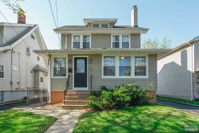 Bogota Single Family Home Under Contract: 124 Elmwood Avenue