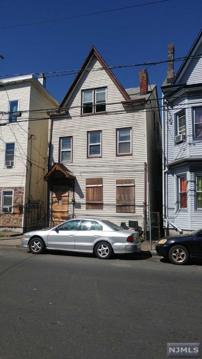 Paterson Multi Family 2-4 Under Contract: 562 Summer Street
