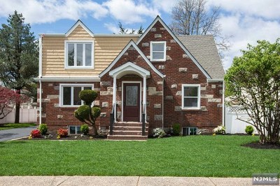 Fair Lawn Single Family Home Under Contract: 0-66 27th Street