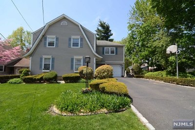 Fair Lawn Single Family Home Under Contract: 4-28 4th Street