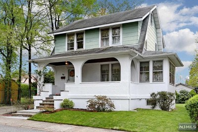 Bergenfield Single Family Home Under Contract: 36 Tuscarora Street