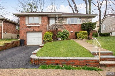 Fort Lee NJ Single Family Home Under Contract: $639,000