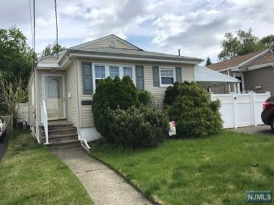 Carlstadt Single Family Home Under Contract: 33 Carlyle Court