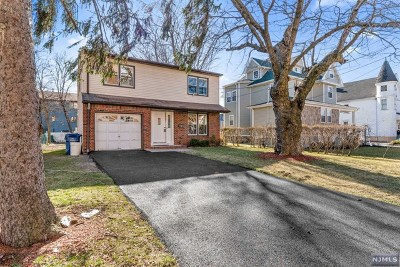 Hackensack Single Family Home Under Contract: 291 Anderson Street