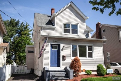Passaic County Single Family Home Under Contract: 213-215 Dundee Avenue