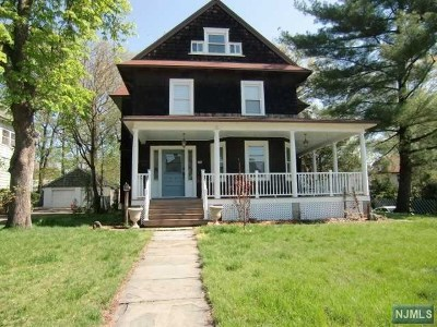 Englewood Single Family Home Under Contract: 167 Liberty Road