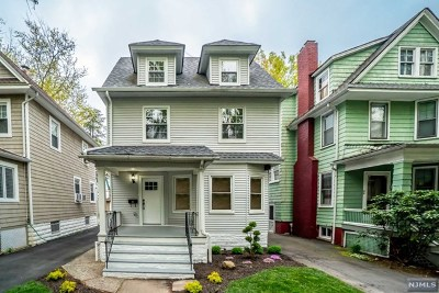 Essex County Single Family Home Under Contract: 32 Emerson Street