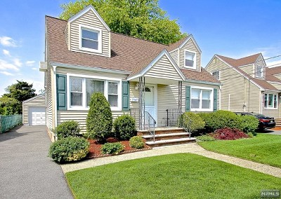 Fair Lawn Single Family Home Under Contract: 12-70 2nd Street