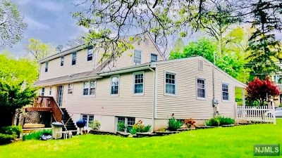 Bergen County Single Family Home Under Contract: 144 Valley Road