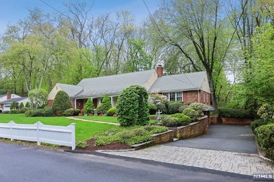 Wyckoff Single Family Home Under Contract: 413 Lake Road